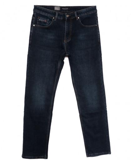 1071 Pаgalee джинсы мужские полубатальные на флисе синие зимние стрейчевые (32-36, 8 ед.) Pagalee
