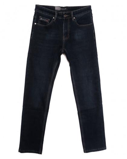 1091 Pаgalee джинсы мужские на флисе синие зимние стрейчевые (30-38, 8 ед.) Pagalee