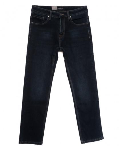 1089 Pаgalee джинсы мужские на флисе темно-синие зимние стрейчевые (29-38, 8 ед.) Pagalee