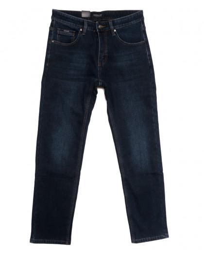 1073 Pаgalee джинсы мужские полубатальные на флисе синие зимние стрейчевые (32-38, 8 ед.) Pagalee