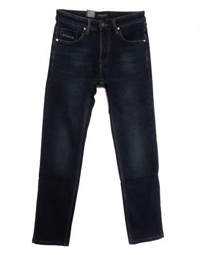 1083 Pаgalee джинсы мужские на флисе синие зимние стрейчевые (30-38, 8 ед.) Pagalee