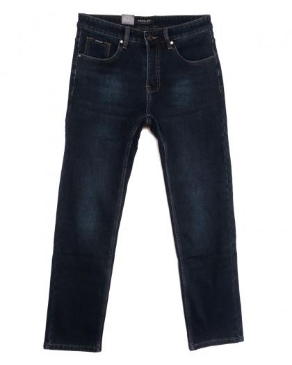 1094 Pаgalee джинсы мужские полубатальные на флисе синие зимние стрейчевые (32-36, 8 ед.) Pagalee
