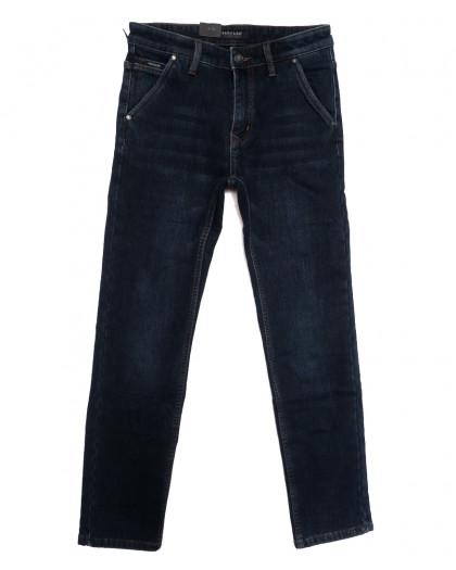 1067 Pаgalee джинсы мужские на флисе синие зимние стрейчевые (29-38, 8 ед.) Pagalee