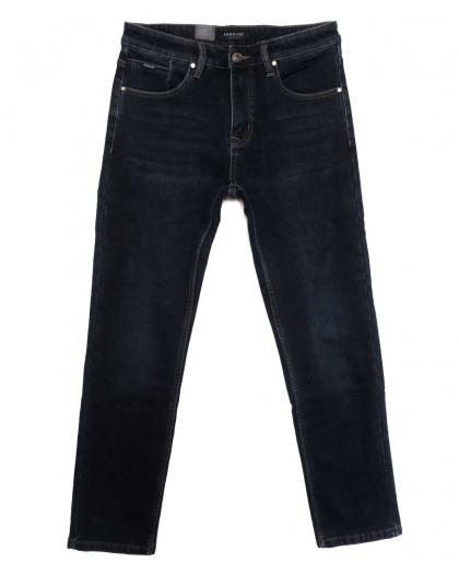 1098 Pаgalee джинсы мужские полубатальные на флисе темно-синие зимние стрейчевые (32-38, 8 ед.) Pagalee