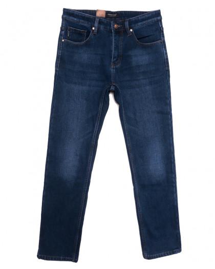 1084 Pаgalee джинсы мужские полубатальные на флисе темно-синие зимние стрейчевые (32-36, 8 ед.) Pagalee