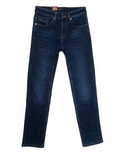 1074 Pаgalee джинсы мужские на флисе синие зимние стрейчевые (29-38, 8 ед.) Pagalee
