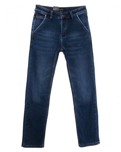 1099 Pаgalee джинсы мужские на флисе синие зимние стрейчевые (29-38, 8 ед.) Pagalee