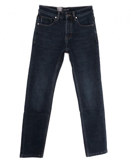 1086 Pаgalee джинсы мужские на флисе синие зимние стрейчевые (29-38, 8 ед.) Pagalee