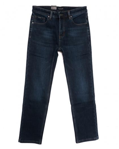 1069 Pаgalee джинсы мужские на флисе синие зимние стрейчевые (30-38, 8 ед.) Pagalee