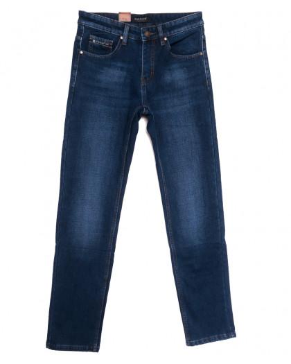 1070 Pаgalee джинсы мужские на флисе синие зимние стрейчевые (30-38, 8 ед.) Pagalee