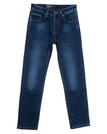 1088 Pаgalee джинсы мужские на флисе синие зимние стрейчевые (29-38, 8 ед.) Pagalee