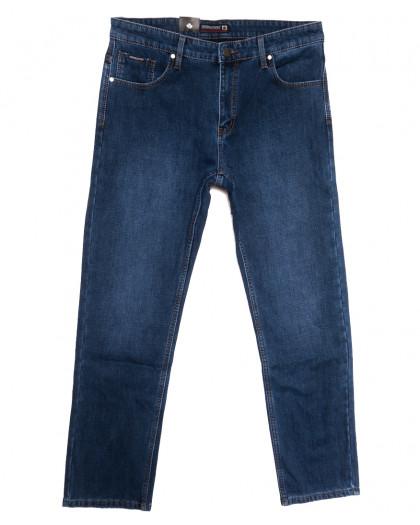2093 Dsqatard джинсы мужские батальные на флисе синие зимние стрейчевые (36-46, 8 ед.) Dsqatard