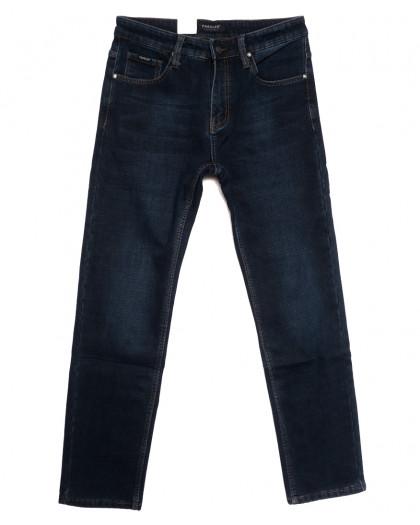 1050 Pаgalee джинсы мужские на флисе синие зимние стрейчевые (29-38, 8 ед.) Pagalee