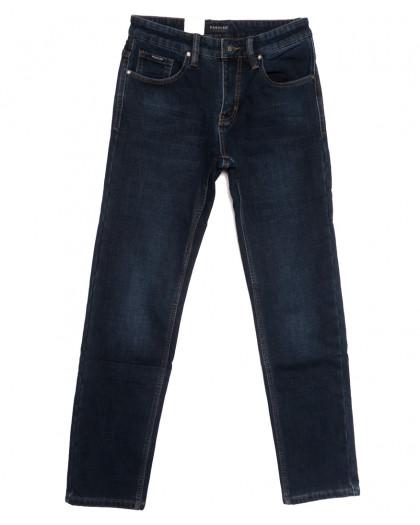 1042 Pаgalee джинсы мужские на флисе синие зимние стрейчевые (30-38, 8 ед.) Pagalee