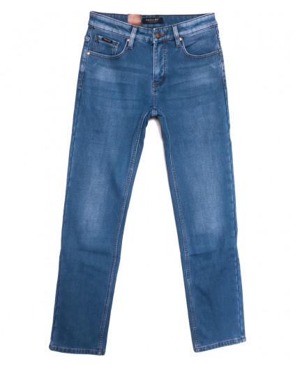 1033 Pаgalee джинсы мужские на флисе синие зимние стрейчевые (29-38, 8 ед.) Pagalee