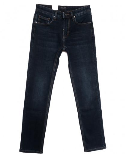 1052 Pаgalee джинсы мужские на флисе синие зимние стрейчевые (29-38, 8 ед.) Pagalee