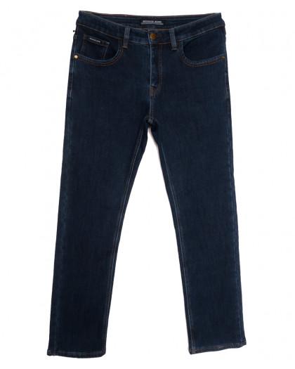 24777 Reigouse джинсы мужские полубатальные на флисе синие зимние стрейчевые (32-42, 8 ед.) REIGOUSE