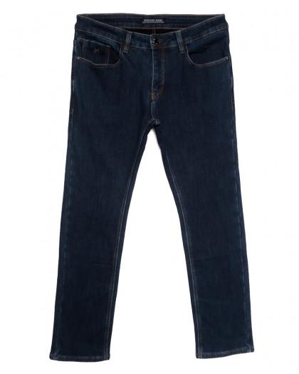 32777 Reigouse джинсы мужские полубатальные на флисе синие зимние стрейчевые (32-42, 8 ед.) REIGOUSE