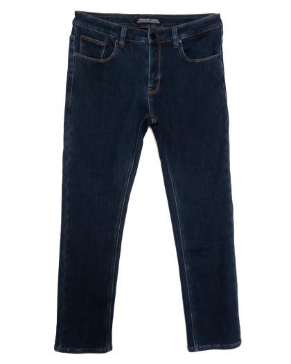 02177 Reigouse джинсы мужские полубатальные на флисе синие зимние стрейчевые (32-40, 8 ед.) REIGOUSE
