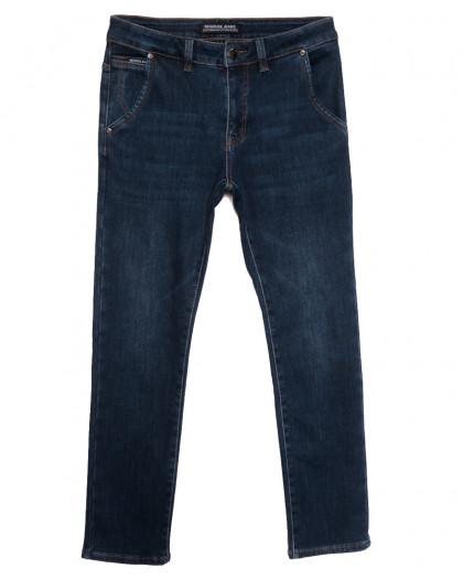 30777 Reigouse джинсы мужские на флисе синие зимние стрейчевые (30-38, 8 ед.) REIGOUSE