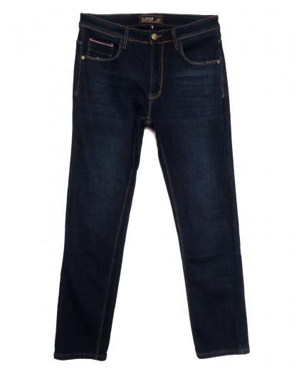 06999 T-Star джинсы мужские полубатальные на флисе темно-синие зимние стрейчевые (32-40, 8 ед.) T-Star