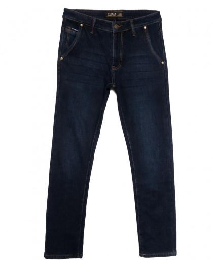 07999 T-Star джинсы мужские на флисе темно-синие зимние стрейчевые (30-40, 8 ед.) T-Star