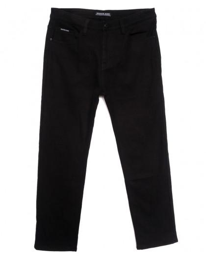 02377 Reigouse джинсы мужские батальные на флисе черные зимние стрейчевые (36-46, 8 ед.) REIGOUSE