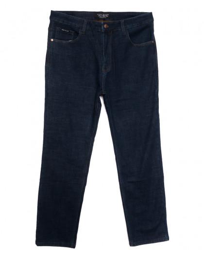 1080 Mаrk Walker джинсы мужские батальные на флисе темно-синие зимние стрейчевые (36-46, 8 ед.) Mark Walker