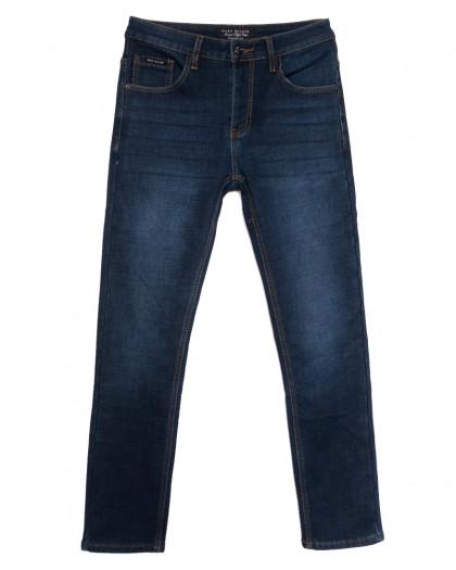 9023 Mаrk Walker джинсы мужские на флисе синие зимние стрейчевые (30-38, 8 ед.) Mark Walker