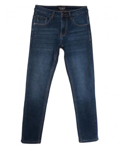 8200 Mаrk Walker джинсы мужские на флисе синие зимние стрейчевые (29-38, 8 ед.) Mark Walker