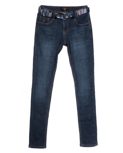 6277 Dimarkis Day джинсы женские на флисе синие зимние стрейчевые (25-30, 6 ед.) Dimarkis Day