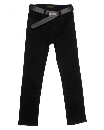 9354 Dimarkis Day джинсы женские полубатальные на флисе черные зимние стрейчевые (28-33, 6 ед.) Dimarkis Day