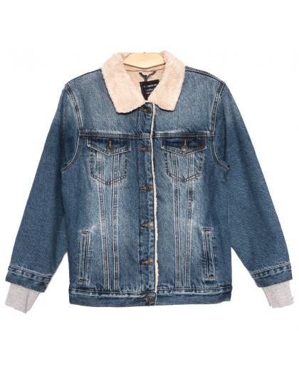 3056 Dimarkis Day куртка джинсовая женская синяя осенняя коттоновая (S-2XL, 5 ед.) Dimarkis Day