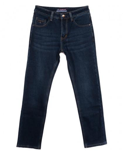 8213 Vouma-Up джинсы мужские на флисе синие зимние стрейчевые (29-38, 8 ед.) Vouma-Up