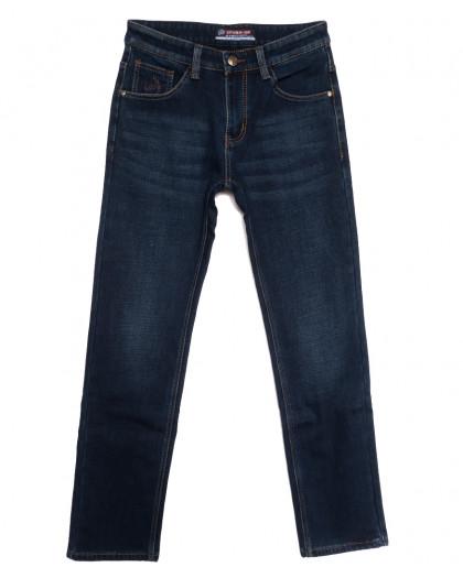 8216 Vouma-Up джинсы мужские на флисе синие зимние стрейчевые (29-38, 8 ед.) Vouma-Up