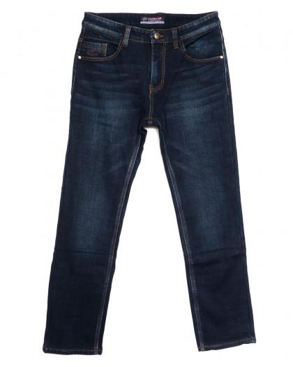8217 Vouma-Up джинсы мужские полубатальные на флисе синие зимние стрейчевые (32-38, 8 ед.) Vouma-Up