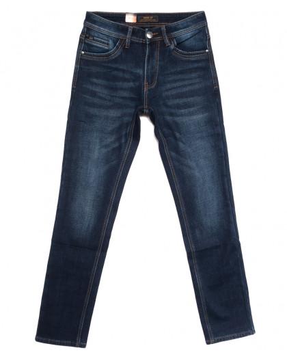18247 Vouma-Up джинсы мужские на флисе синие зимние стрейчевые (29-36, 8 ед.) Vouma-Up