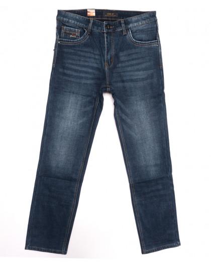 18243 Vouma up джинсы мужские полубатальные на байке синие зимние стрейчевые (32-38, 8 ед.) Vouma-Up