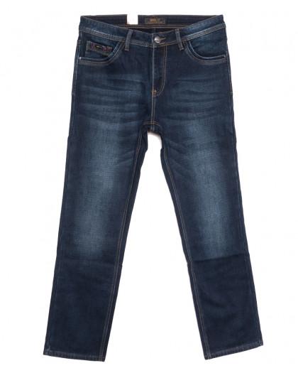 18237 Vouma up джинсы мужские полубатальные на байке синие зимние стрейчевые (32-38, 8 ед.) Vouma-Up
