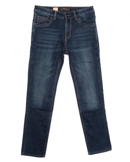 18249 Vouma up джинсы мужские на байке синие зимние стрейчевые (29-38, 8 ед.) Vouma-Up