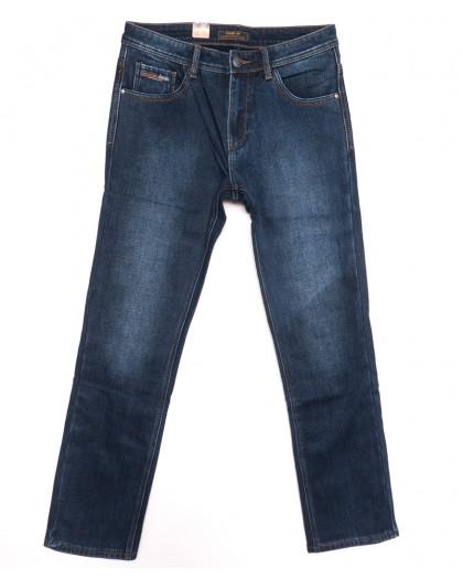18242 Vouma up джинсы мужские полубатальные на байке синие зимние стрейчевые (32-38, 8 ед.) Vouma-Up