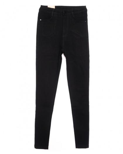 0717 (0717-L) Forest Jeans американка черная осенняя стрейчевая (25-30, 6 ед.) Forest Jeans