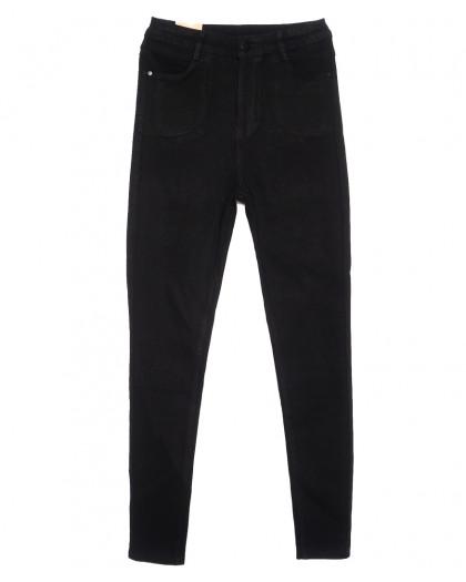 0718 (0718-L) Forest Jeans американка полубатальная черная осенняя стрейчевая (28-33, 6 ед.) Forest Jeans
