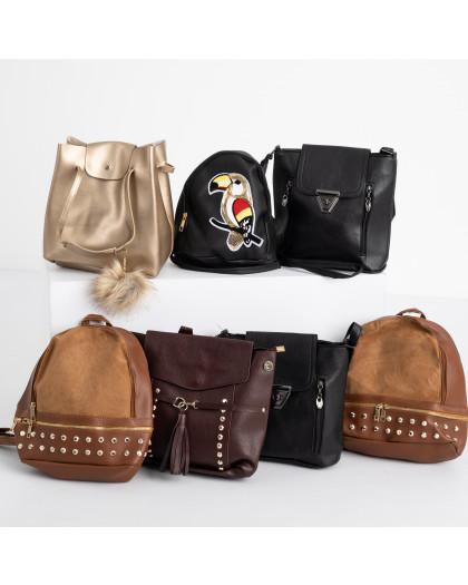 8999-4 сумка женская микс 5-ти моделей (5 ед. без выбора моделей) Сумка