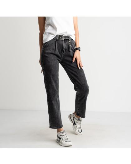 3083 KT.Moss джинсы женские серые стрейчевые (6 ед. размеры: 25.26.27.28.29.30) KT.Moss