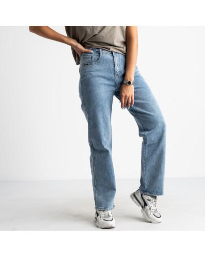 3076 KT.Moss джинсы полубатальные голубые стрейчевые (6 ед. размеры: 28.29.30.31.32.33) KT.Moss