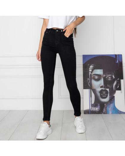 5068 New Jeans американка черная стрейчевая (6 ед. размеры: 25.26.27.28.29.30) New Jeans