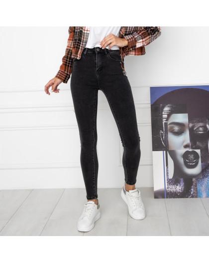 5008 New Jeans американка серая стрейчевая (6 ед. размеры: 25.26.27.28.29.30) New Jeans