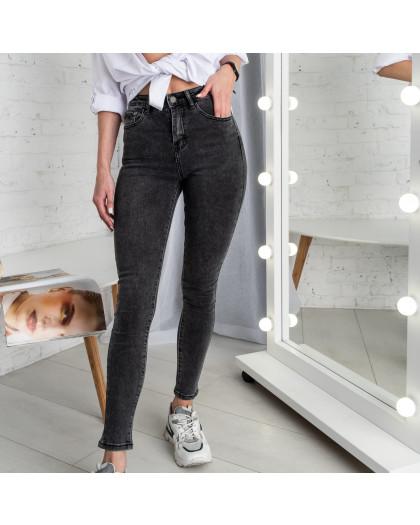 5007 New Jeans американка темно-серая стрейчевая (6 ед. размеры: 25.26.27.28.29.30) New Jeans