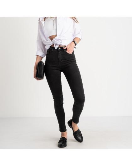 5010 New Jeans американка темно-серая стрейчевая (6 ед. размеры: 25.26.27.28.29.30) New Jeans
